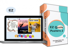 EZ Quote Posters Bundle 2 OTO by Dr. Roger Smith